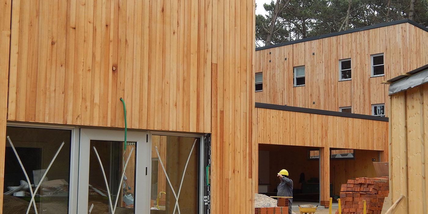 Construcción con tableros CLT